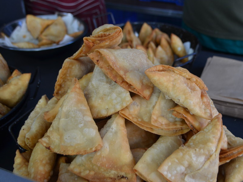 Samosas from Spice Fever