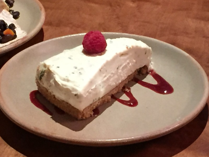 Mojito cheesecake at Bodega