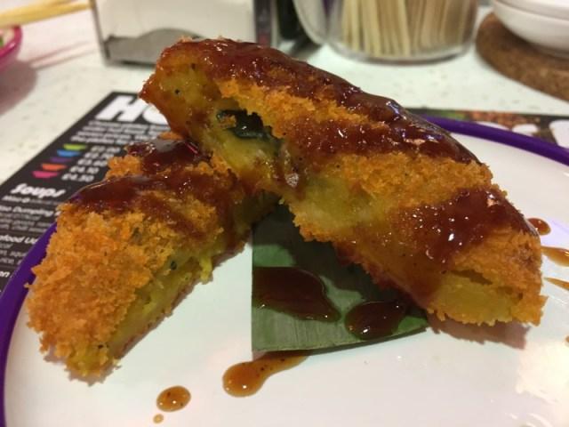 Pumpkin Katsu at Yo Sushi