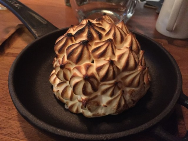 Baked Alaska at Purecraft Bar and Kitchen