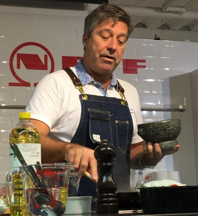Learning to cook from John Torode