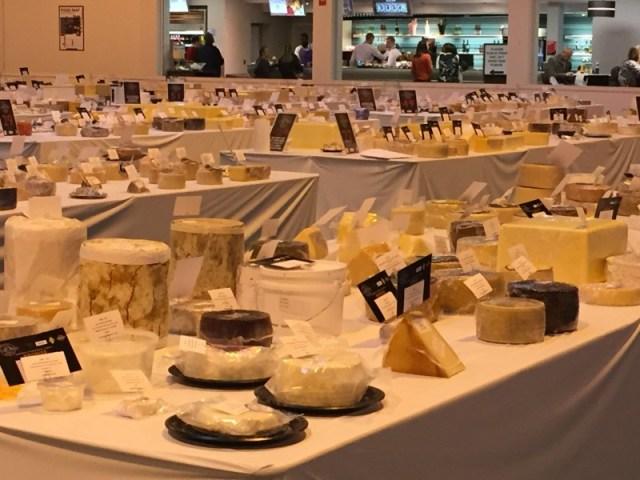 World Cheese Awards at the Good Food Show
