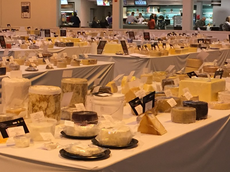 World Cheese Awards at the Good Food Show