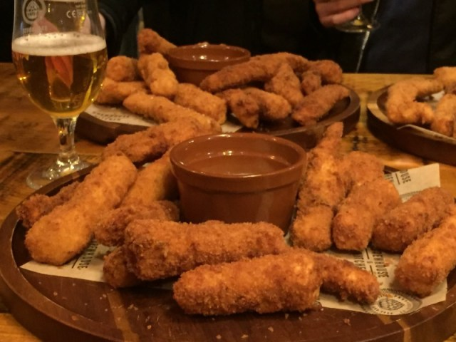 Cod goujons at Brewhouse & Kitchen