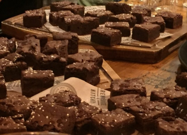 Chocolate brownie at Brewhouse and Kitchen