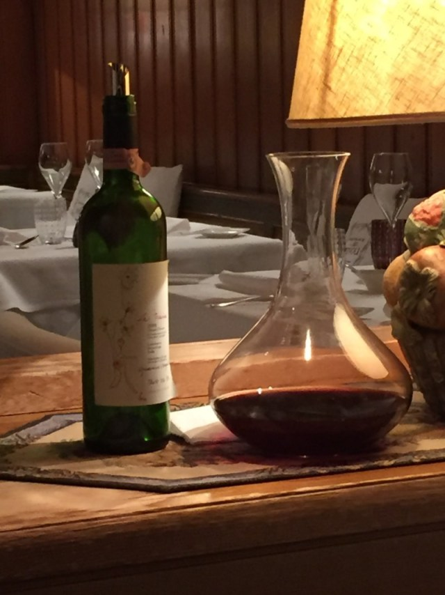 Wine at Tivoli, Cortina d'Ampezzo