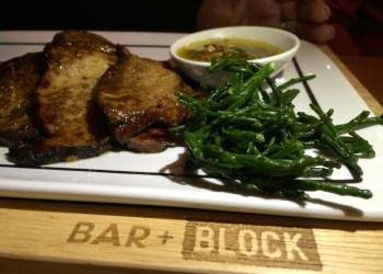 Brisket at Beefeater Bar + Block