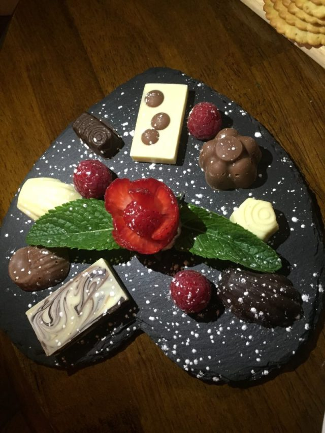 Petit Fours at Cafe Vin Cinq, Rugby