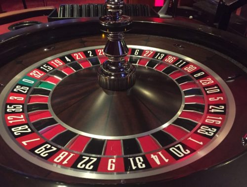 Learning roulette at the Grosvenor Casino, Birmingham