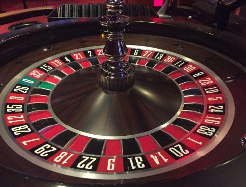 Learning roulette at the Grosvenor Casino, Birmingham