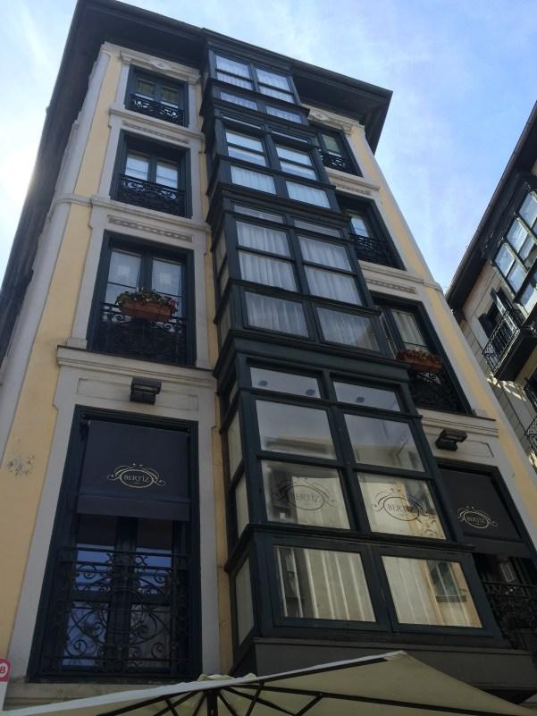 Street in the Old Quarter, Bilbao