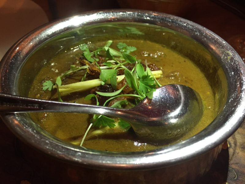 Mutton curry at Lasan, Birmingham