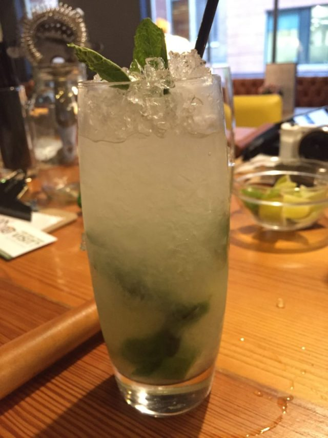 Mojito at All Bar One cocktail masterclass