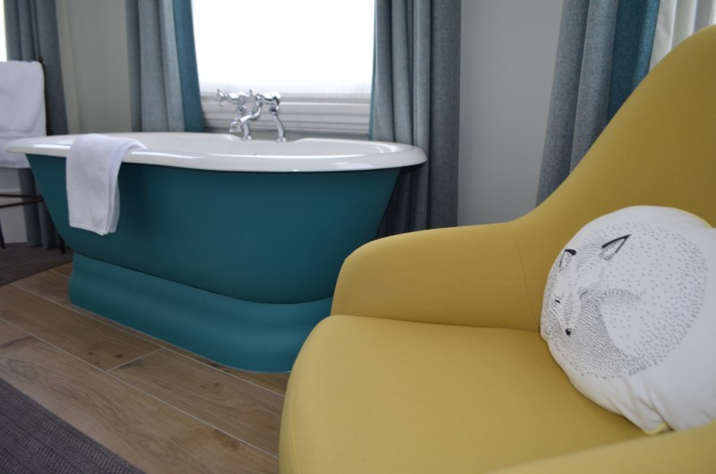 Bedroom bathtub at the High Field Town House
