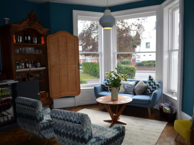 Sitting room at the High Field Town House, Birmingham