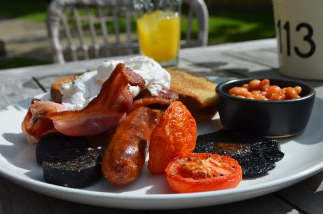 Full English at the High Field, Edgbaston