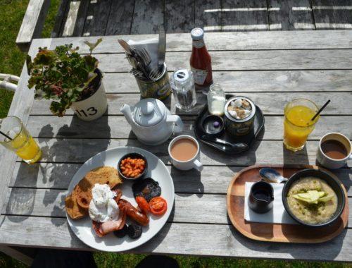 Breakfast at the High Field, Edgbaston