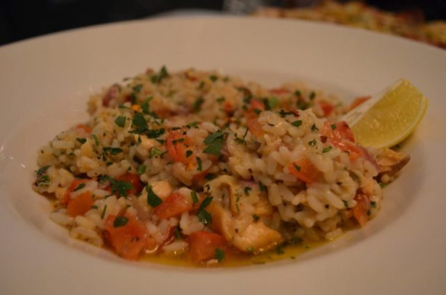 Risotto at Pizza Express