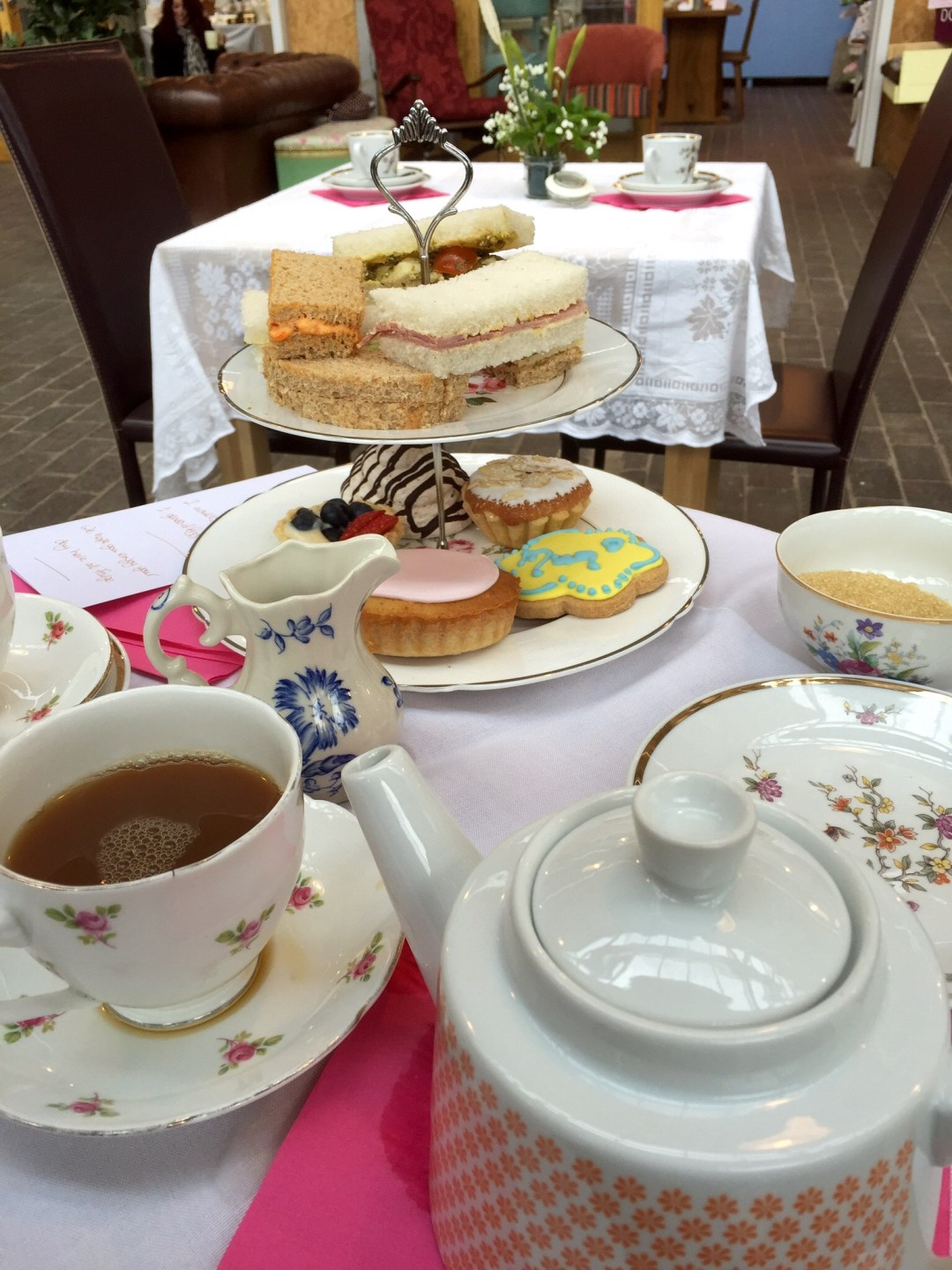 Afternoon tea at Fargo Village
