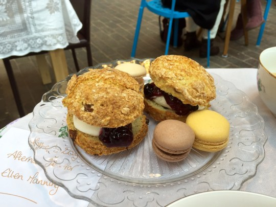 Afternoon tea at Fargo Village, Coventry