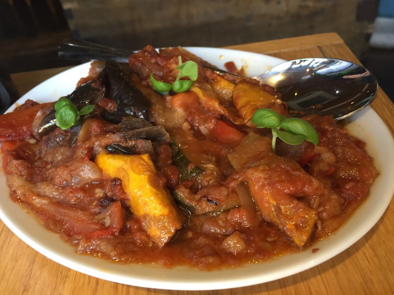 Ratatouille at the Glassboat, Bristol