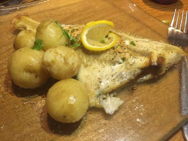 Whole plaice at Met Bar and Kitchen, Solihull