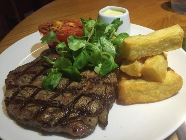 Steak at Met Bar and Kitchen, Solihull