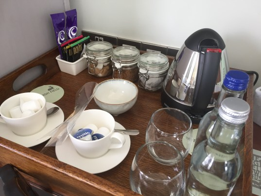 Coffee making facilities at the High Field Town House