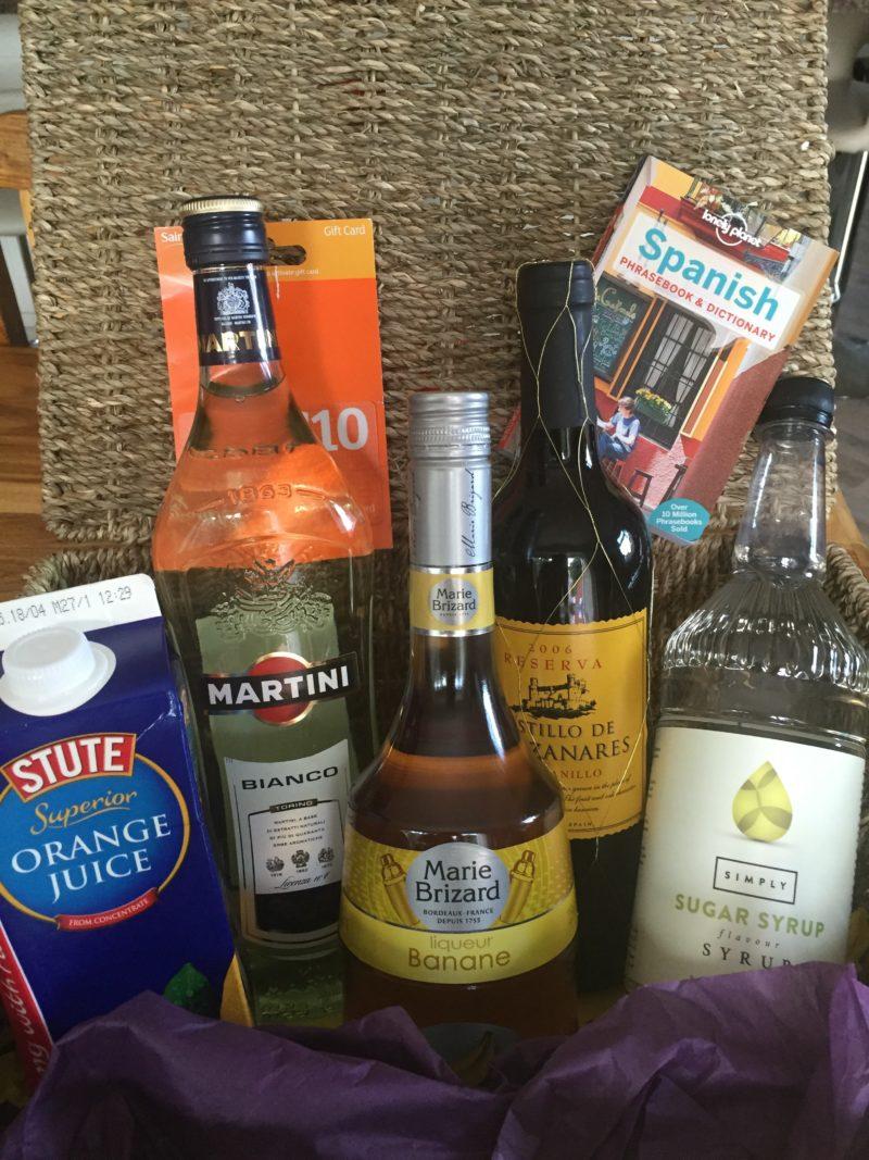 Spanish Fiesta ingredients from Monarch