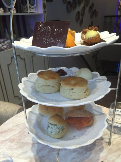 Afternoon tea at Madame Posh, Windsor