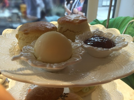 Afternoon tea at Madame Posh, Windsor