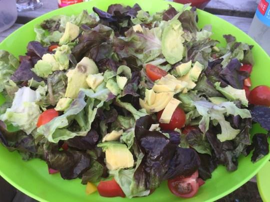 Salad in Cornwall