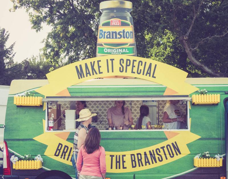 Branston Pickle at Battle Proms