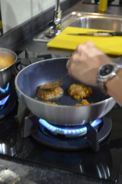 Thai fishcakes at Mousley House Farm Cookery School