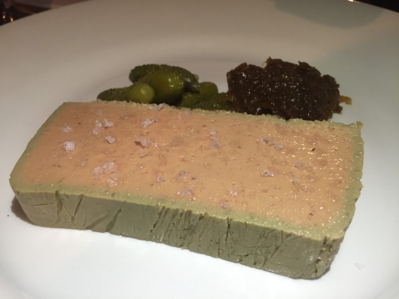 Chicken liver pate at the White Horse, Duns Tew