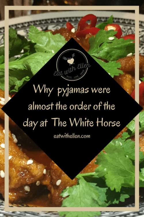 Why pyjamas were almost the order of the day at The White Horse
