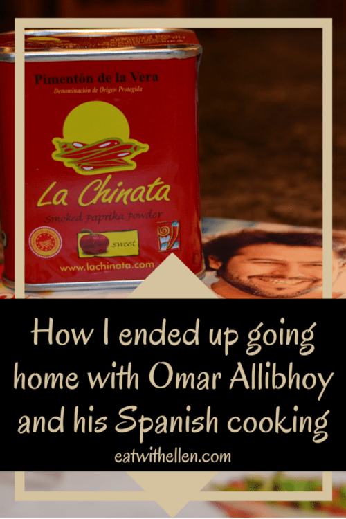 How I ended up going home with Omar Allibhoy and his Spanish cooking