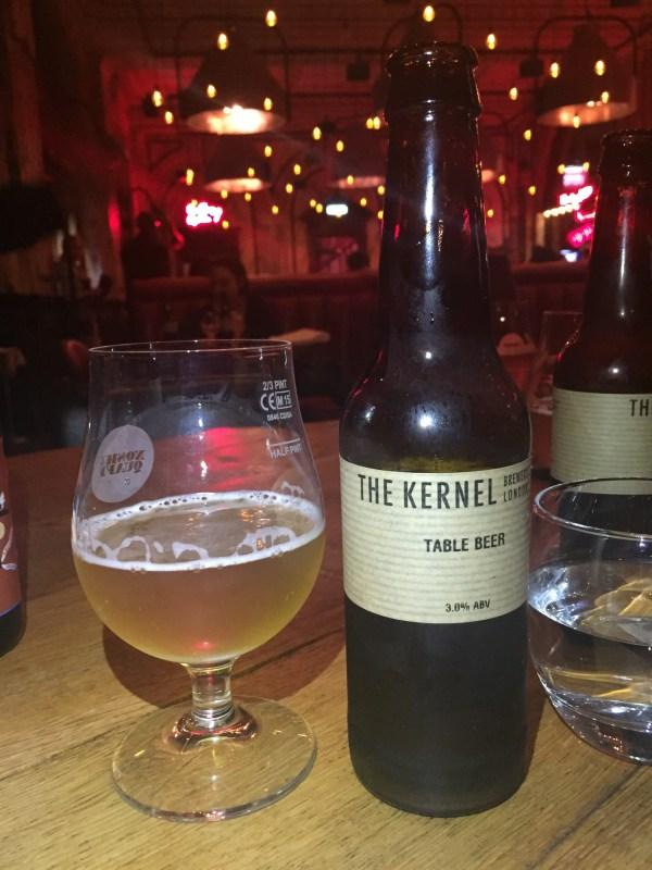 The Kernel beer at Nosh & Quaff