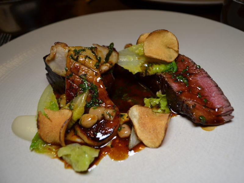 Hereford Beef at The Cross, Kenilworths Mushroom Dinner