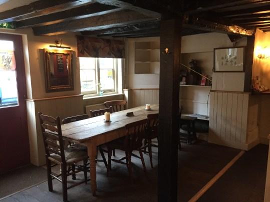 Inside the Fat Fox Inn, Watlington