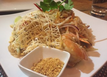 Giant Butterfly King Prawn Pad Thai