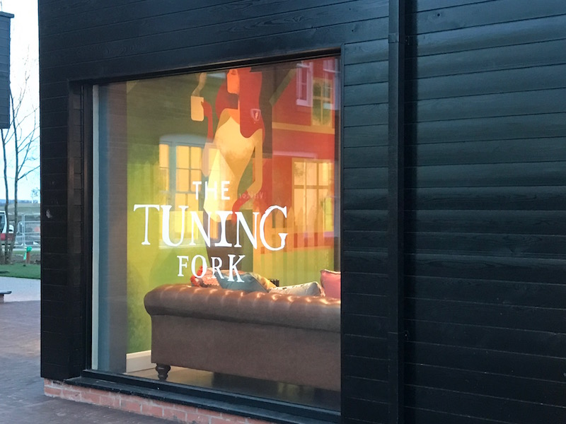 The Tuning Fork, Houlton, Rugby