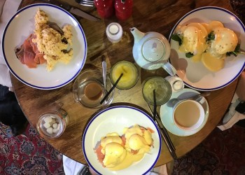 Breakfast at the Woodstock Arms, Woodstock