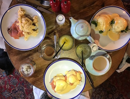 Breakfast at the Woodstock Arms, Woodstock