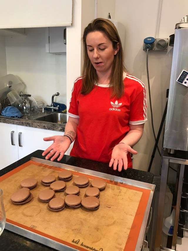 Making macarons with Revelicious, Rugby