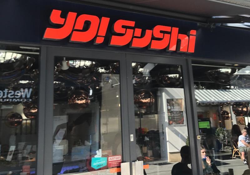 Yo! Sushi, Leamington Spa