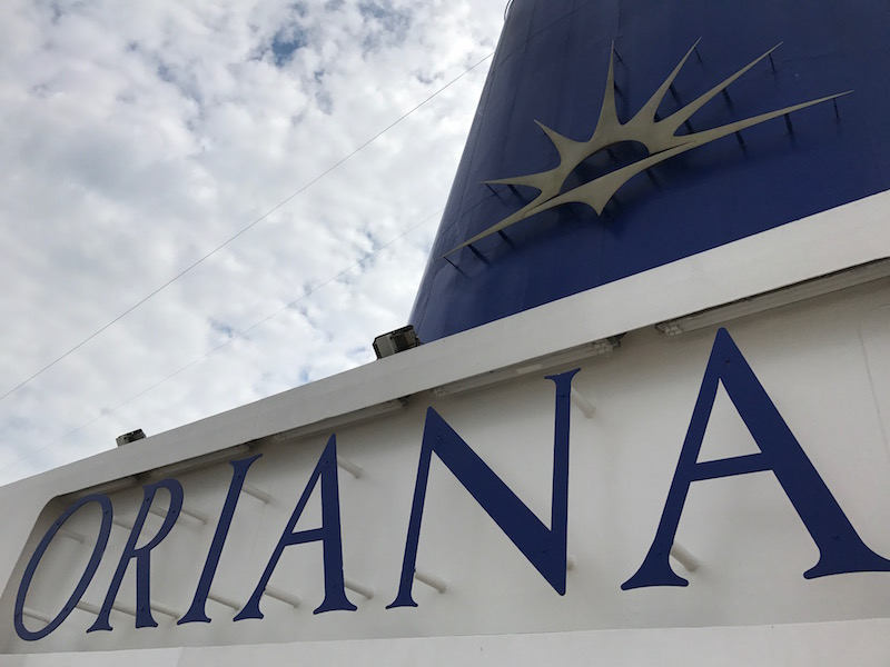 P&O's Oriana cruise ship