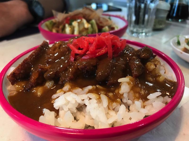 Chicken Katsu Curry at Yo! Sushi