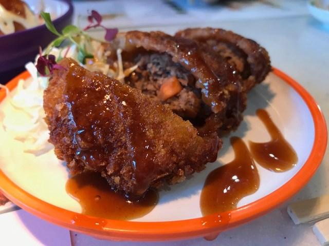 Beef Katsu at Yo! Sushi