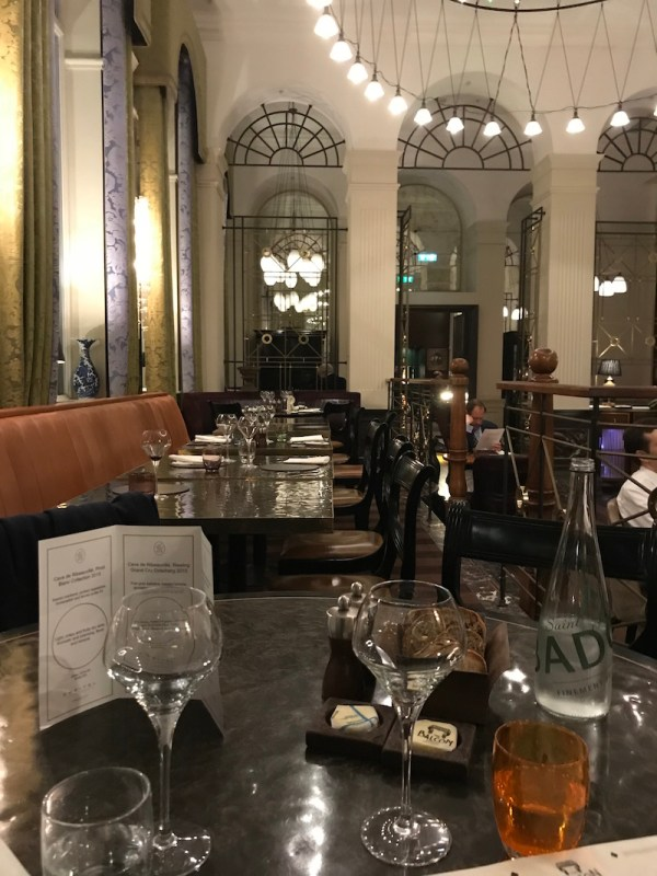 Sofitel Wine Days at The Balcon, London